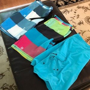 Lot of Men's Hurley size 36 board shorts